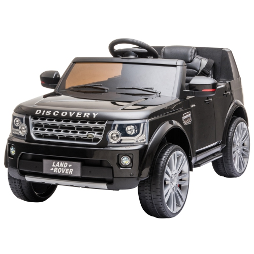 Aosom Compatible 12V Battery-powered Kids Electric Ride On Car Landrover Discovery 4 Toy with Parental Remote Control Music Lights MP3 Suspension Whe