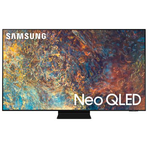 Téléviseur intelligent Tizen HDR QLED UHD 4K 55 po de Samsung - 2021 - Noir titan
