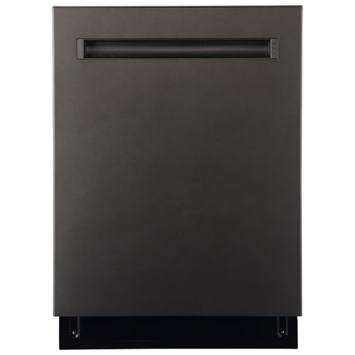 """GE 24"""" 48dB Built-In Dishwasher with Stainless Steel Tub - Slate"""