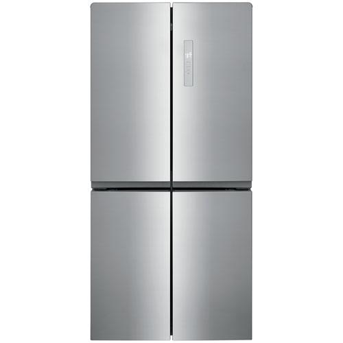 Réfrigérateur à deux portes de 33 po et 17,4 pi³ de Frigidaire - Acier brossé