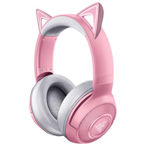 Razer Kraken Kitty Edition Wireless Gaming Headset - Pink