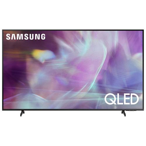 """Samsung 65"""" 4K UHD HDR QLED Tizen Smart TV - Titan Grey - Only at Best Buy"""