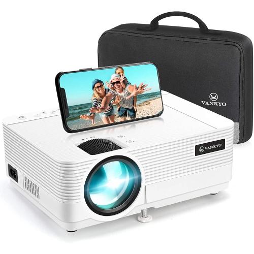 Vankyo - Leisure 470 Wireless Mini Projector-White