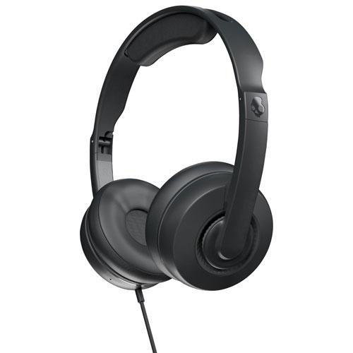 Skullcandy Cassette Junior On-Ear Sound Isolating Headphones - Black