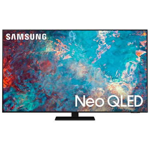 Téléviseur intelligent Tizen HDR QLED UHD 4K 85 po de Samsung - 2021 - Noir titan