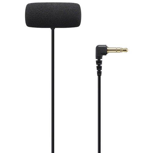 Microphone-cravate stéréo de Sony