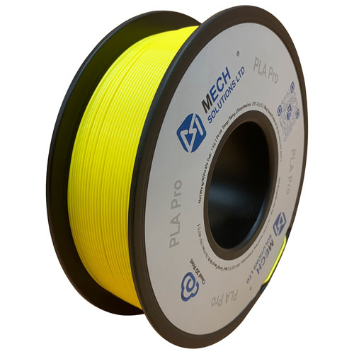 Mech Solutions 1kg 1.75mm Yellow PLA Filament - Only at Best Buy