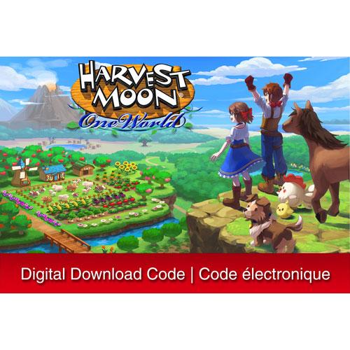 Harvest Moon: One World - Digital Download