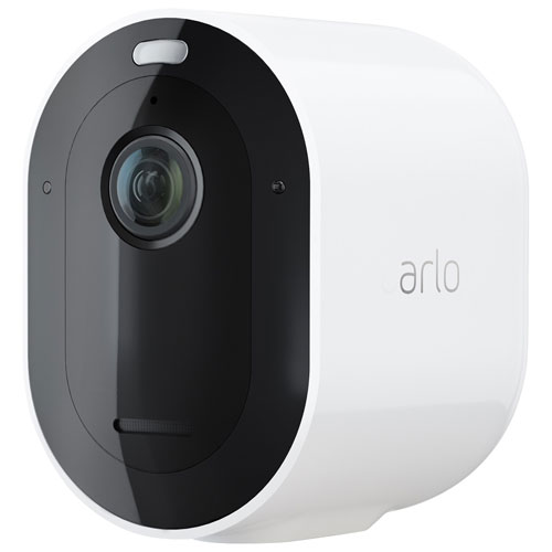 Arlo Pro 4 Wire-Free Outdoor 2K Add-On Security Camera - White