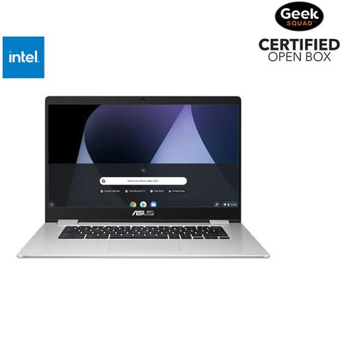 Chromebook C523 15,6 po d'ASUS - Argenté - BO