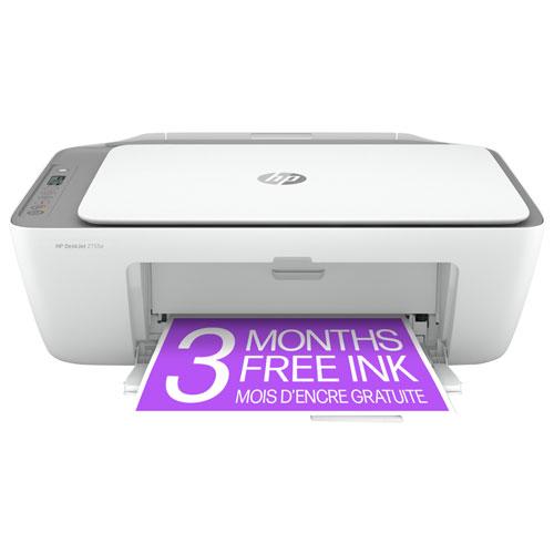 Imprimante à jet d'encre tout-en-un sans fil DeskJet 2755e de HP