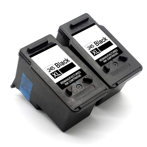 Compatible Ink Cartridge for Canon PG-245XL CL-246 245XL 246XL Work with Pixma MX492 TR4520 MX490 MG3022 MG2924 MG3020 MG2520 TR4527 TS202 IP2820 1 B