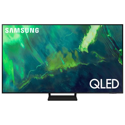 """Samsung 75"""" 4K UHD HDR QLED Tizen Smart TV - 2021"""