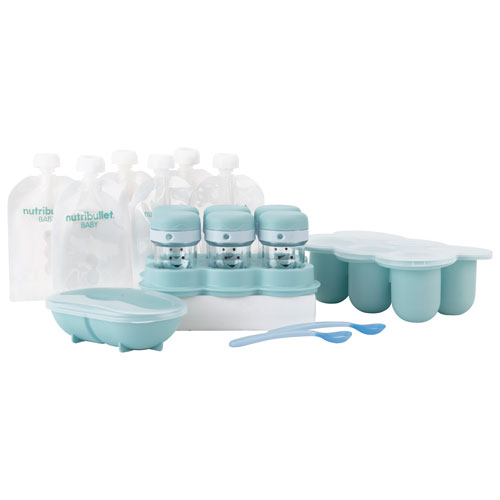 NutriBullet Baby Meal Prep Kit - Teal/White