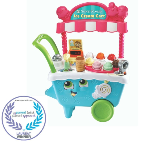 LeapFrog Scoop & Learn Ice Cream Cart English Edition for Ages 24 - 48 months