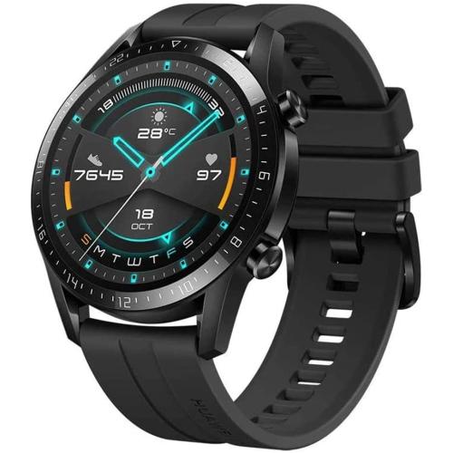HUAWEI Watch GT 2 smart watch - 2-Week Battery , Bluetooth, Sport GPS, Fitness Workout Modes, spO2 Oxygen Saturation Detection, Heart Rate Tracker, S