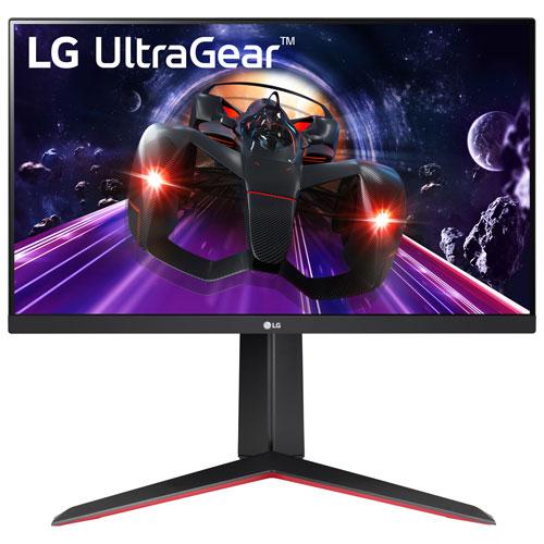 Moniteur jeu DEL IPS HD intégrale FreeSync GTG 1 ms 144 Hz 24 po UltraGear de LG - Noir