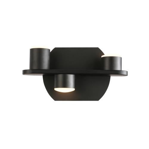 Matte Black Up/Down Integrated LED Wall Bracket