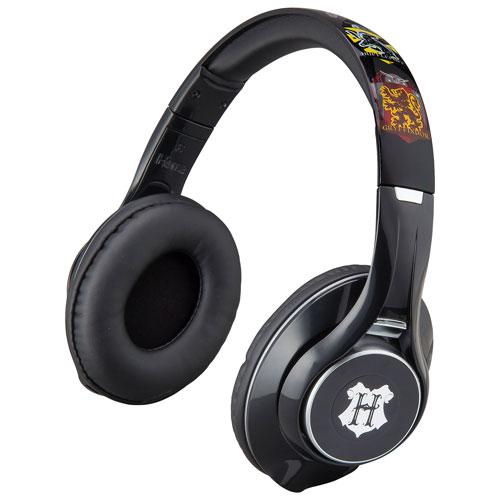KIDdesigns Harry Potter Over-Ear Noise Cancelling Bluetooth Kids Headphones - Hogwarts