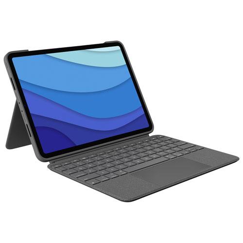 """Logitech Combo Touch Keyboard Case for iPad Pro 11"""" - Oxford Grey - En"""