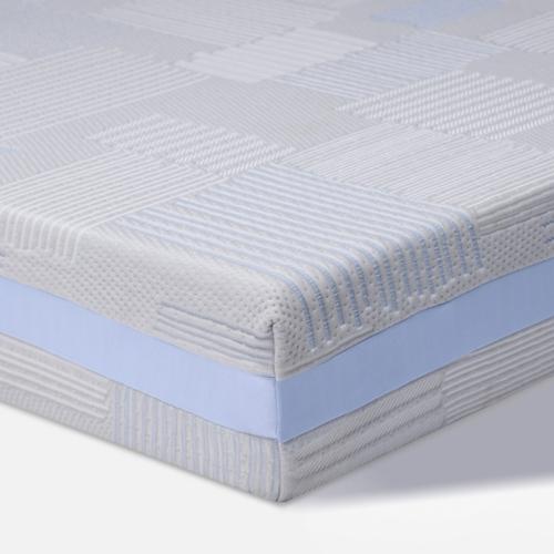 Matelas Sealy Posturepedic Optimum Chill Trio Delila à mousse mémoire en gel, à haut plat de 10po - Très grand lit