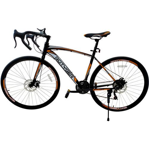GoTyger Racing 66 cm 21 Speed Sport Bike - Black