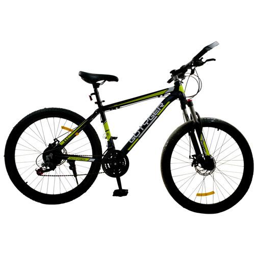 GoTyger 66 cm 24 Speed Mountain Bike - Black