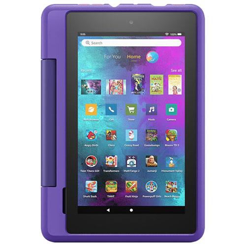 """Amazon Fire 7 Kids Pro 7"""" 16GB FireOS Tablet with Mediatek MTK8163B Processor - Doodle"""