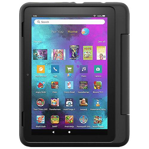 "Amazon Fire HD 8 Kids Pro 8"" 32GB FireOS Tablet with MTK/MT8168 Processor - Black"