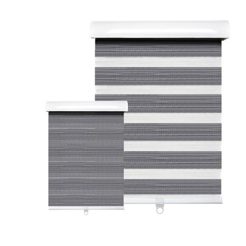 Hauz 5284WDGRYCD - 52 '' X 84 '' Alternate Blinds Window Shade, Cordless, Wood Grain Grey
