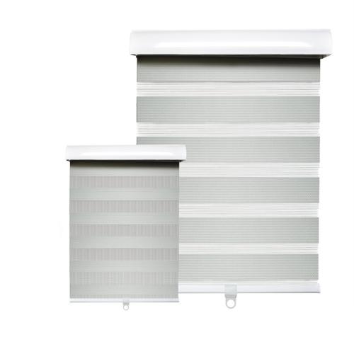 Hauz 6884GRYCD - 68 '' X 84 '' Alternate Blinds Window Shade, Cordless, Grey