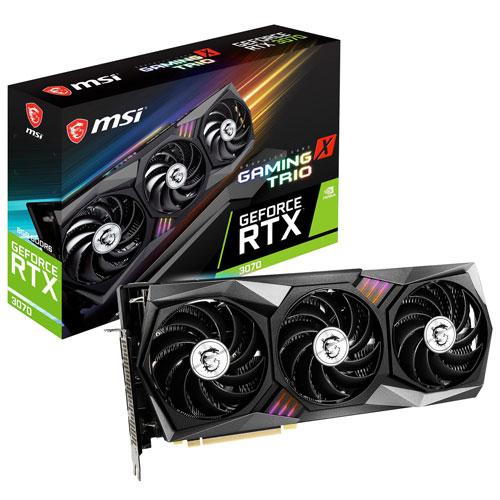 MSI NVIDIA GeForce RTX 3070 X TRIO 8GB GDDR6 Video Card