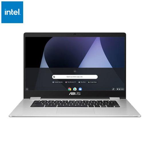 Chromebook C523 15.6 po d'ASUS - Argenté - Boîte ouverte
