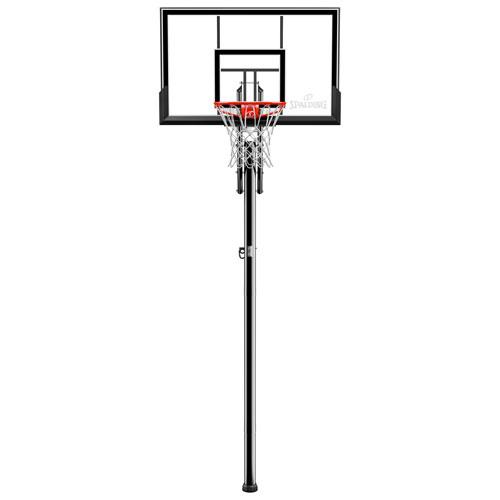"Spalding Ratchet 44"" In-Ground Basketball Hoop"