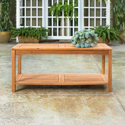 Table basse extérieure de Winmoor Home - Acacia