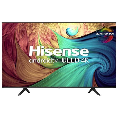 "Hisense 55"" 4K UHD HDR QLED Android Smart TV - 2021"