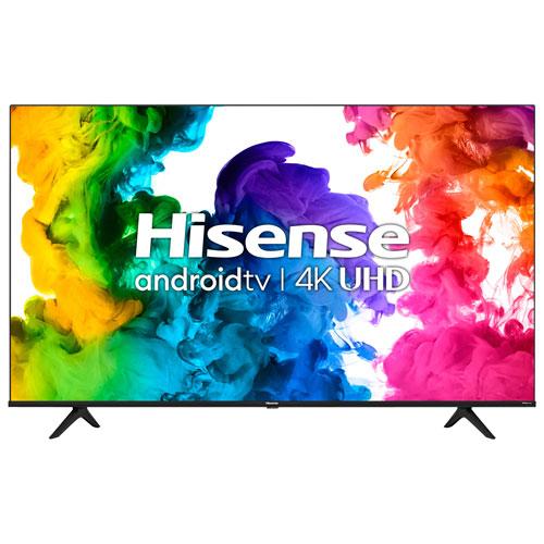 """Hisense 50"""" 4K UHD HDR LED Android Smart TV - 2021"""