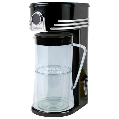 Nostalgia Café Iced Coffee & Tea Maker - 2.8L - Black