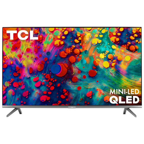 "TCL 6-Series 55"" 4K UHD HDR QLED Mini-LED Roku OS Smart TV - Refurbished"
