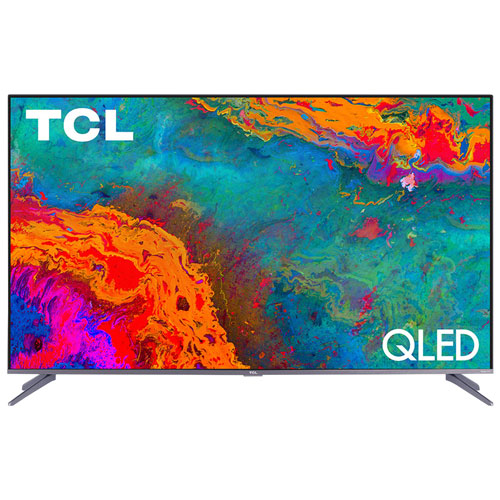"TCL 5-Series 50"" 4K UHD HDR QLED Roku OS Smart TV - Refurbished"