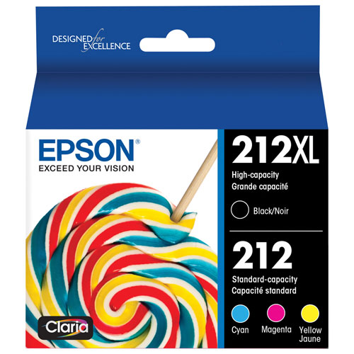 Epson Black/Colour Ink - 4 Pack