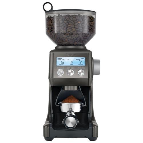 Breville Smart Grinder Pro Burr Coffee Grinder - Black Stainless Steel