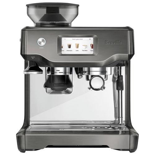 Machine à expresso automatique Barista Touch de Breville avec mousseur et moulin à café - Inox