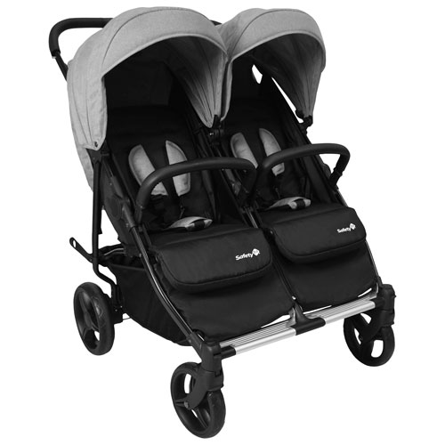 Safety 1st Double Double Duo Stroller - Flint Grey