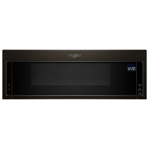 Whirlpool Over-The-Range Microwave - 1.1 Cu. Ft. - Black Stainless Steel - Open Box - Perfect Condition
