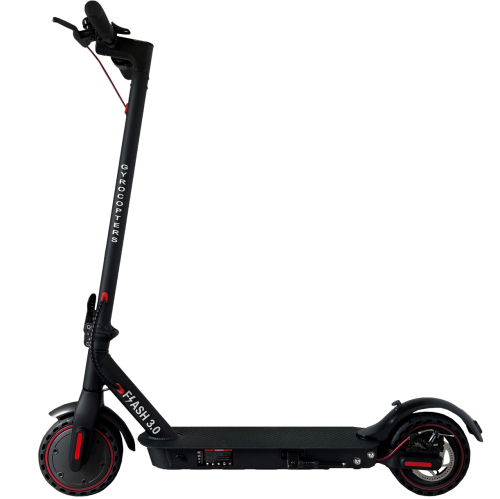Gyrocopters- Flash 3.0 Portable Electric Scooter with rear suspension - 8.5 wheels, 36V-7.5Ah Big Lithium Ion Battery, Speeds up tp 15 miles