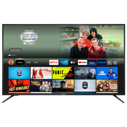 """Pioneer 50"""" 4K UHD HDR LED Smart TV - Fire TV Edition - 2021 - Only at Best Buy"""
