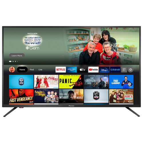 """Pioneer 43"""" 4K UHD HDR LED Smart TV - Fire TV Edition - 2021 - Only at Best Buy"""