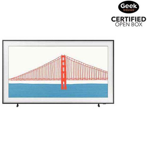 "Samsung The Frame 75"" 4K UHD HDR QLED Tizen OS Smart TV - 2021 - Open Box"