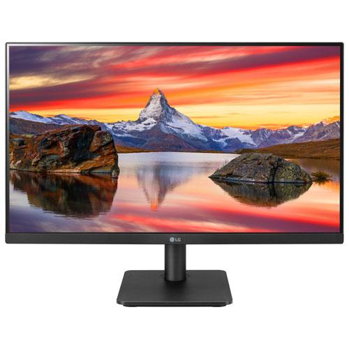 Moniteur de jeu DEL IPS HD intégrale GTG 5 ms FreeSync 75 Hz 23,8 po de LG - Noir